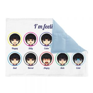 Emotions weighted lap pad