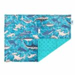Design-your-own lap pad made with sharks fabric