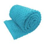 Aqua sensory minky calming weighted blanket