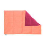 Peach smooth minky weighted lap pad