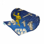 Weighted blanket made with Star Wars licensed fabric