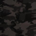 Black Camouflage fabric for a weighted blanket