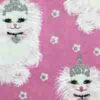 Cat Princess fabric for a weighted blanket