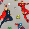 Licensed Print with Avengers Pattern