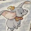 Licensed Print with Dumbo Pattern