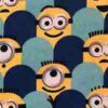 Minions fabric for a weighted blanket