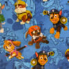 Blue Paw Patrol fabric for a weighted blanket
