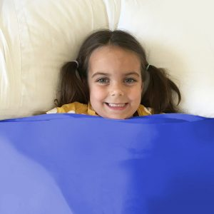 Compression sheets give calming deep pressure touch