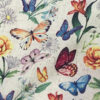 Butterflies and flowers fabric for weighted blanket