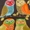 Large Owls Print