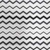 Silver zigzag fabric for weighted blanket