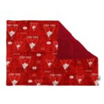 Weighted lap pad made with Sydney Swans team supporter licensed fabric