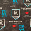 Weighted blankets made with licensed Port Adelaide licensed fabric