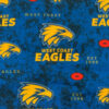 Licensed Print with West Coast Eagles Pattern