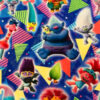 Trolls fabric swatch for a weighted blanket