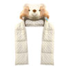 Bear kid's hooded weighted buddy
