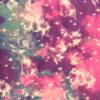 Pink, blue and purple unicorn galaxy