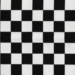 Black and white checked fabric for weighted lap pad