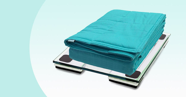 Weighted blankets custom-made with the right weight for the best calming effect