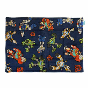 Transformers licensed fabric weighted lap pad